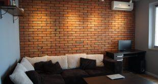 کاشی دیوار طرح آجر