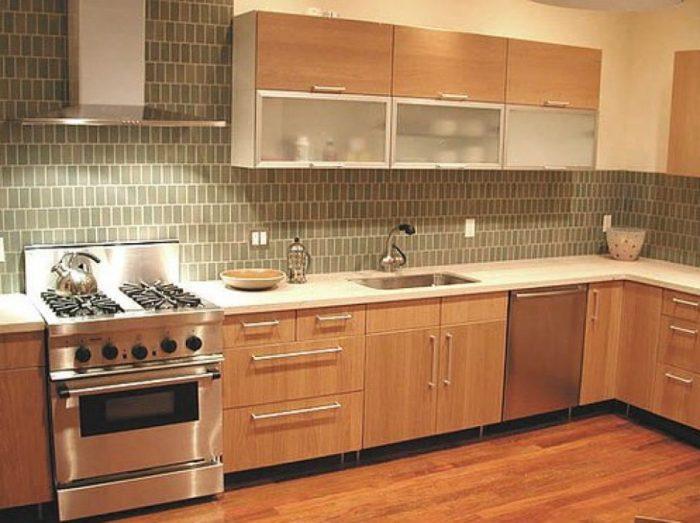 کاشی آشپزخانه ساده
