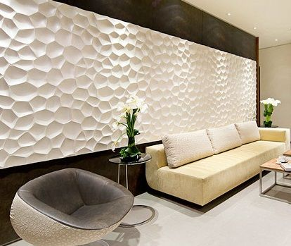 انواع کاشی دیوار سه بعدی