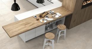 سرامیک کف آشپزخانه جدید